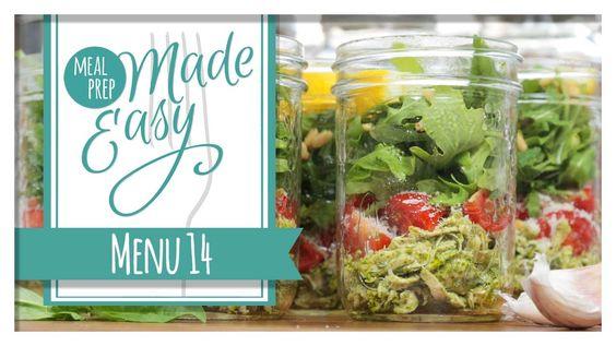 *NEW* Healthy Meal Prep Menu 14 | Tortellini Soup, Eggplant Parmesan, Mi...