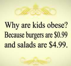 shouldn't be hard to buy healthy food . cost more to buy cigarettes  these days why not junk food .foundation franchise healthy fast food , drive-in .: Truth, Exercise Workout, So True, Eat Healthy, Fast Food, Eating Healthy, Healthy Food, True Stories