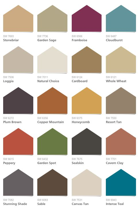 Spices Sherwin Williams Color Palette And Color Palettes