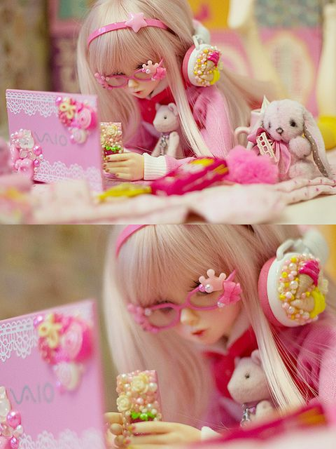 [ • bjd - ball jointed doll - fairy kei - decoden • ]
