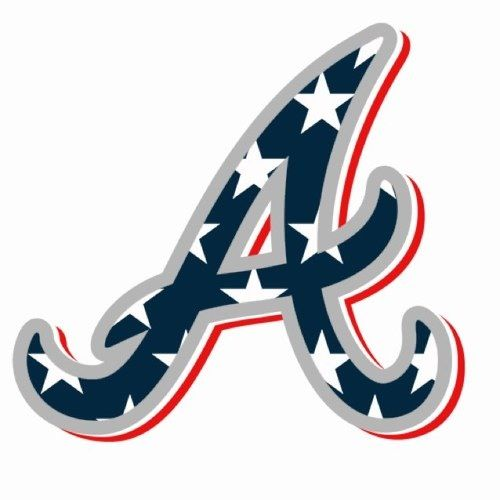 atlanta braves july 4th hat