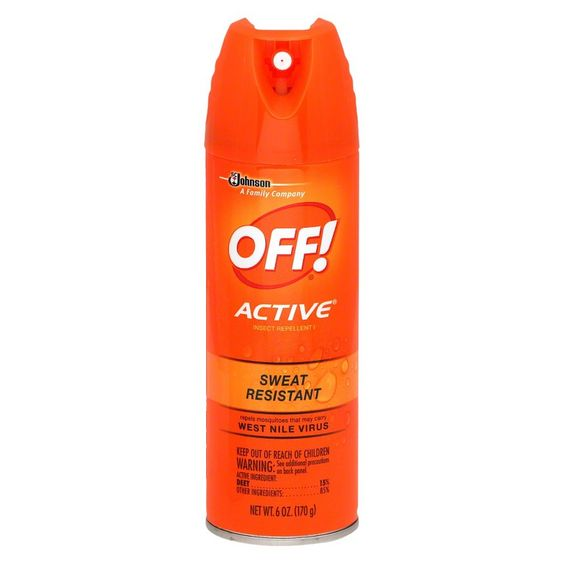 Off Active Sweat Resistant Insect Repellent 6 oz