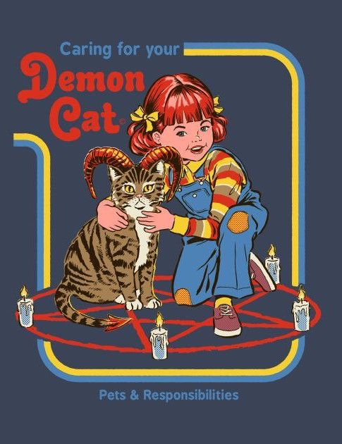 Caring for Your Demon Cat | Steven Rhodes in 2019 | Cat