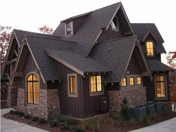 Eplans Craftsman House Plan Timber Craftsman Style Home with