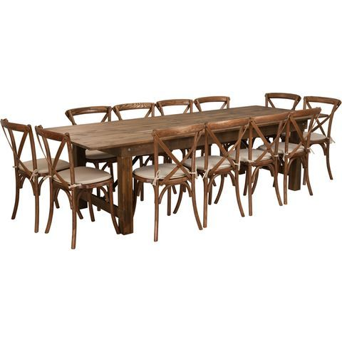Artistic Large Dining Room Table At Benchmade 108 Inch Harvest