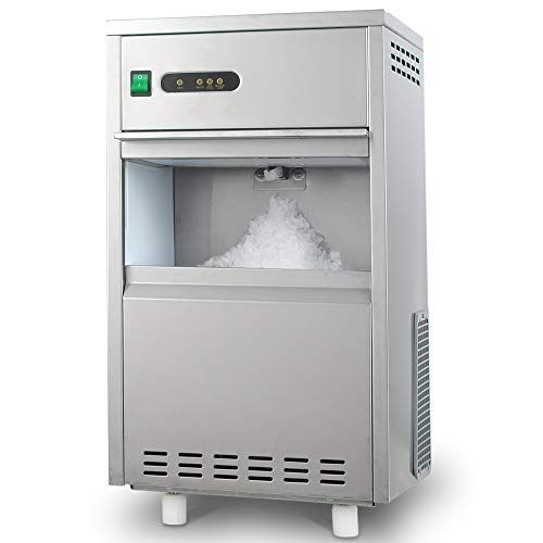 Hth 44lb 24h Snowflake Crushed Ice Maker Commercial Ice Machine Countertop Stainless Steel Ice Maker Machine Fr Crushed Ice Maker Ice Maker Machine Ice Maker