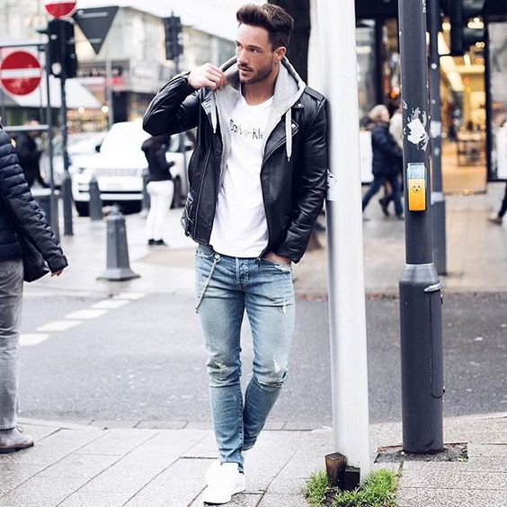 Today's look* ______________ Jacket by @viparo #casual #streets #viparo: