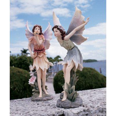 Design Toscano Fairies of Stratford Statues Fairy Statues & Reviews | Wayfair