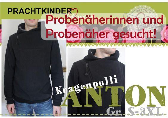 Prachtkinder: Probenählauf für Anton S-3XL: Willst du dabei sein?