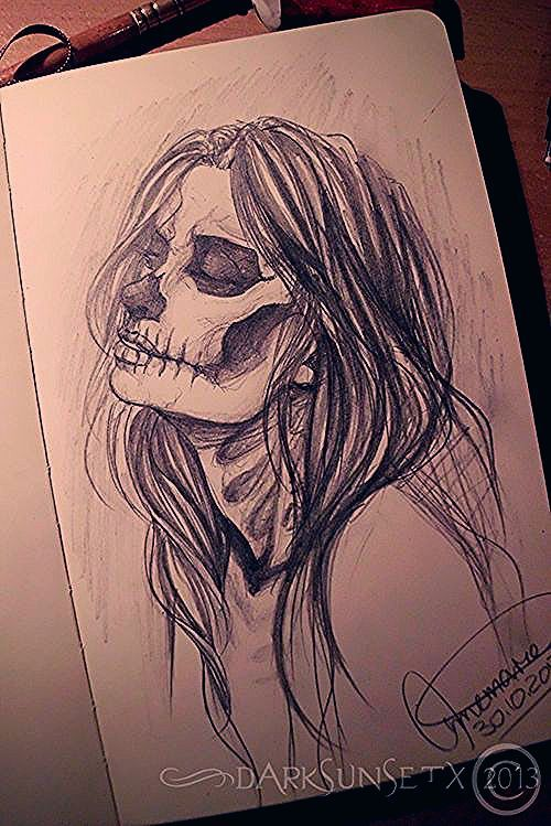 Drawings With Deep Meaning : drawings, meaning, #bones,, #drawing,, #girl,, #halloween,, #horror,, #love,, #mask,, #paper,, #photography,, #skull,, #asaelmalik,, #half…, Sketches,, Deviantart, Drawings,, Drawing
