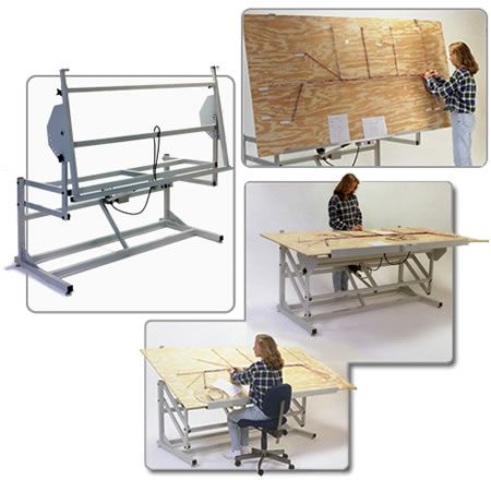 =Wire Harness Board Frames tilting table Pinterest