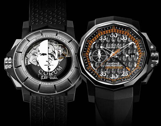 Montres Corum for Downhill Skier Legend Didier Cuche: But, Corum Admiral S, Cuche Watch, Admiral S Cup, Watches Corum, Cup Didier, Designer Timepieces, Cuche Luxurywatch