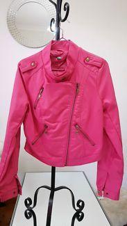 Pink imitation leather jacket   Jackets & Coats   Gumtree Australia Canterbury Area - Kingsgrove   1129627560