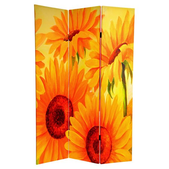 Sunflower Room Divider
