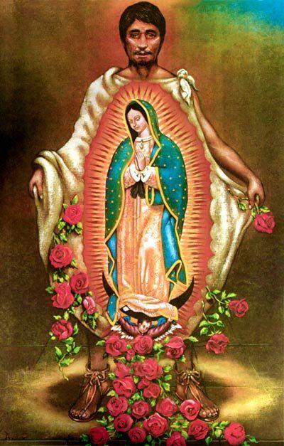 Juan Diego & Virgen de Guadalupe
