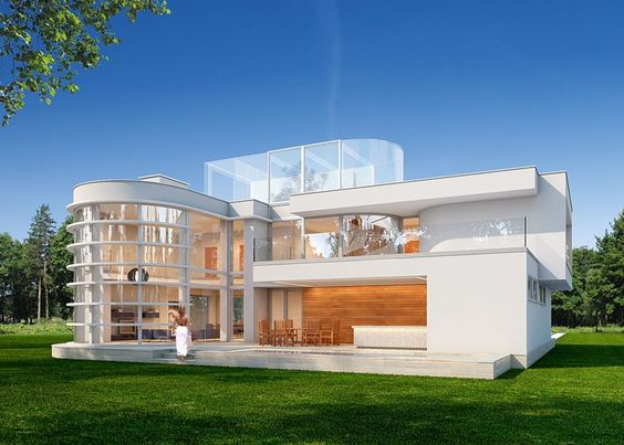Projekt domu PLK-901 - DOM CK1-50 - gotowy projekt domu
