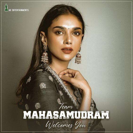 Aditi Rao Hydari To Play Female Lead In Maha Samudram
