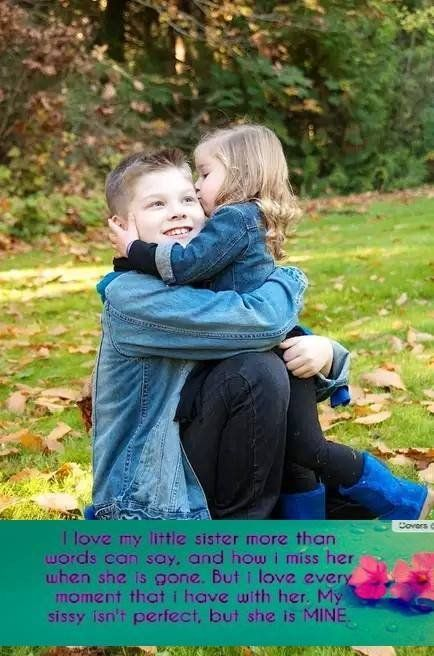 Love You My Little Sister Brother Sister Love Quotes Brother Sister Quotes Brother Pictures