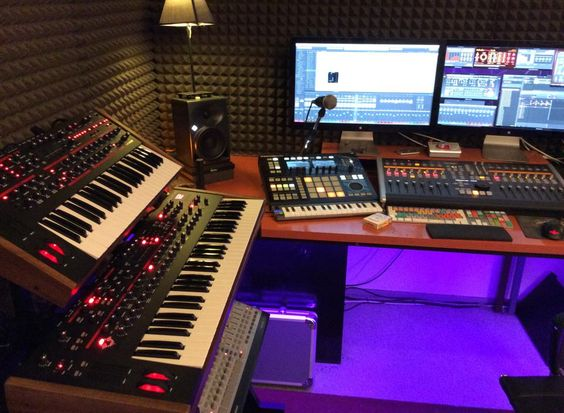 how to start a recording studio at home