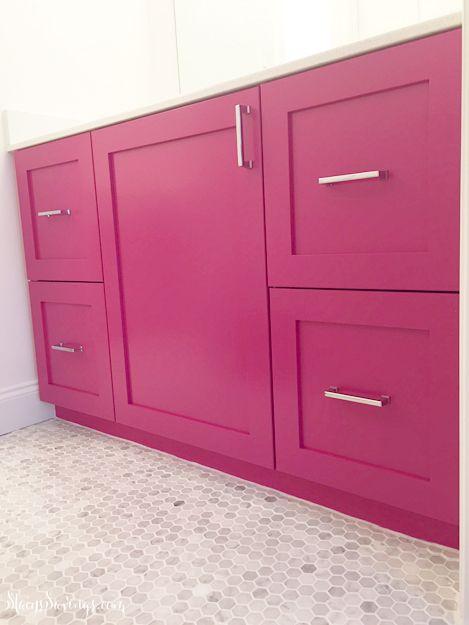 kitchen hot pink bathroom girl bathrooms kitchen cabinets pink girl