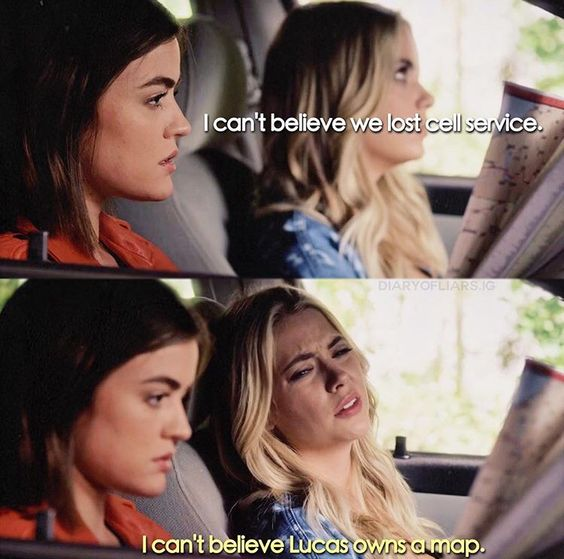 """#PLL 7x03 """"The Talented Mr. Rollins"""" - Hanna and Aria"""