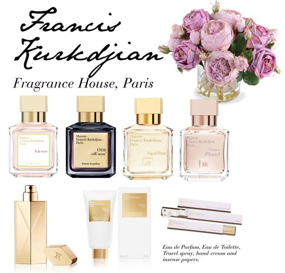 Featured Perfumes by Francis Kurkdjian Paris, a fragrance house with sophistication and elegance. See our editor's selection from their collection...