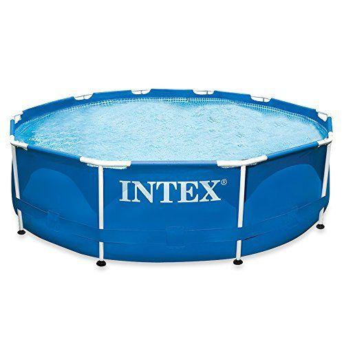 Intex METAL FRAME–Piscine démontable Sans épurateur 305 x 76 cm