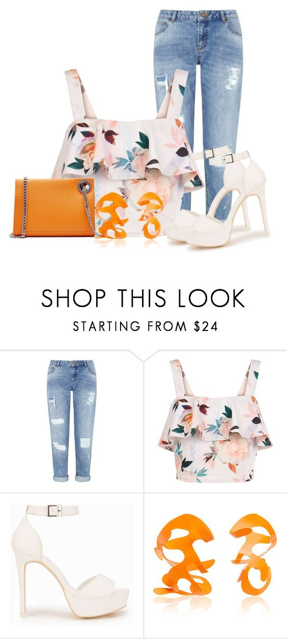 """Untitled #1319"" by lchar ❤ liked on Polyvore featuring Miss Selfridge, New Look, Nly Shoes, Rosie Assoulin and Jil Sander"