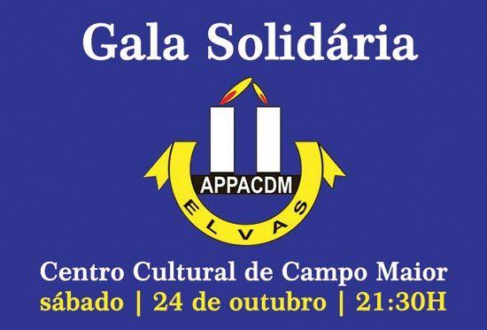 Campomaiornews: Gala Solidária APPACDM de Elvas no Centro Cultural...