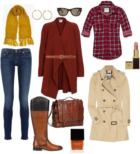 Great website for outfit ideas!  This one's about layering.