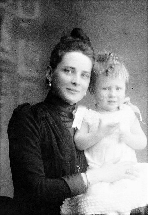 """""""My mother, who had already had three sons, two of whom had died in infancy, was so certain I would be a girl that she had ordered a pink layette for me. To make up for her disappointment, she dressed me as a girl until I was five years old."""