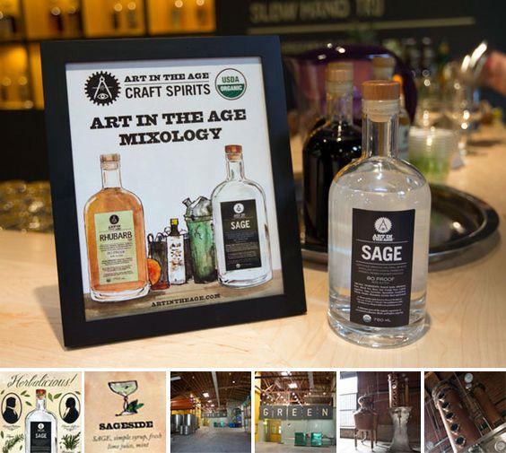 sage and rhubarb liquors! yum!!!! imagine the cocktails!!!