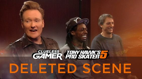 Conan teases out the embarrassing history of why Lil Wayne doesn't like snowboarding.