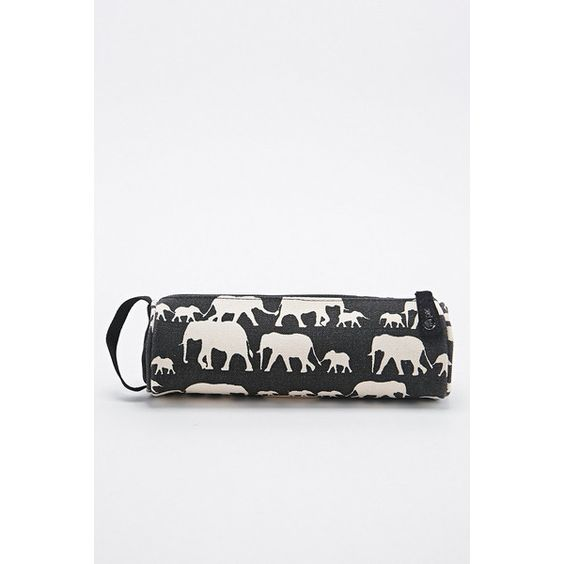 Mi-Pac Black Elephant Pencil Case (60 RON) ❤ liked on Polyvore featuring home, home decor, office accessories, black, zip pencil case, black pencil pouch, zipper pencil case, zipper pencil pouch and black pencil case