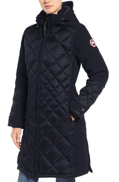 CANADA GOOSE Cabot Down Coat. #canadagoose #cloth #