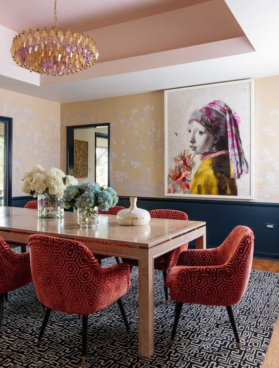 Pin By Nicole Keller On Design In 2019 Dining Room Wall Decor