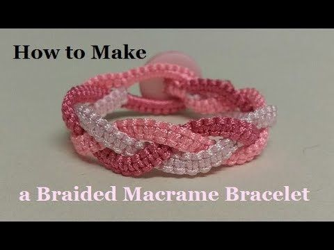 Macrame Bracelet Tutorial The Fish