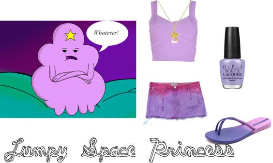 Cosplay Makeover Monday Adventure time Lump space princess summer time look