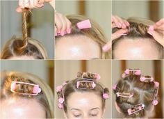 Classically Contemporary: HowTo Curl Short Hair Using Cheap Foam Rollers