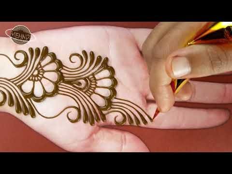 Easy Beautiful Mehndi Easy Simple Mehndi Design For Front Hand Step By Mehndi Designs For Kids Mehndi Designs For Beginners Latest Mehndi Designs,Simple Plain Saree With Designer Blouse Images