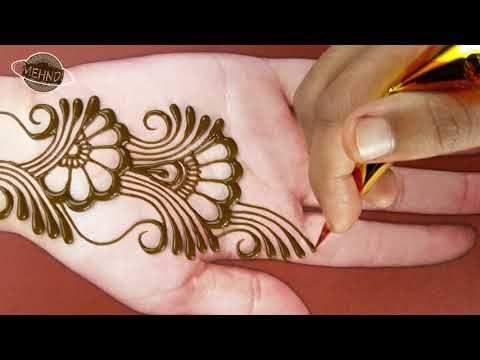 Easy Beautiful Mehndi Easy Simple Mehndi Design For Front Hand