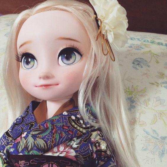 예쁘니까 한장더//_// 아름다운 여왕님 #babydoll #disney #dollstagram #disneybabydoll #animatorscollec | OnInStagram
