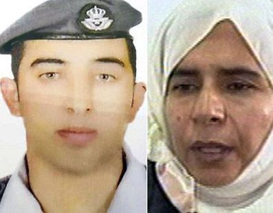 Jordan hangs 2 Al Qaeda after ISIS burns pilot alive.. WAY TO GO JORDAN!!!! Obama doesn't have the Balls