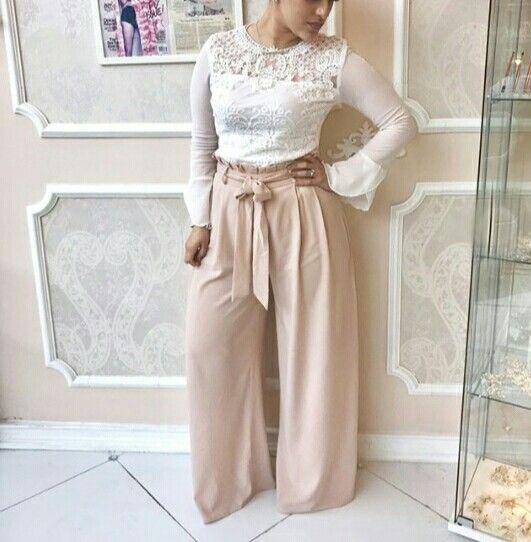Palazzo Pants Hijab Hijabfashion بنطلون واسع Muslim Fashion Fashion Hijab Fashion