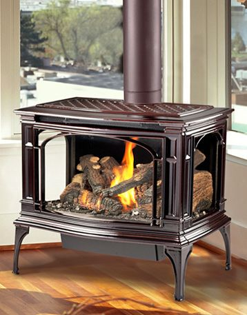 Stove Gas Fireplaces And Pellet Stove On Pinterest