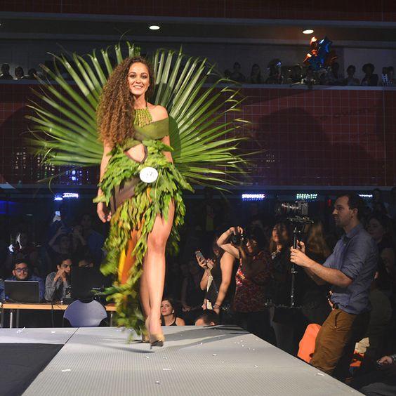 Fashion   Model Carolina Fiol on the runway - Eco Couture Recycling Fashion Show 2015 at Florida International University   #CityDailyPhoto, #Dogwood52, #EcoCouture, #Fashion, #FIU, #Miami, #Miamidailyphoto, #Photooftheday, #Recycle   Miami Daily Photo