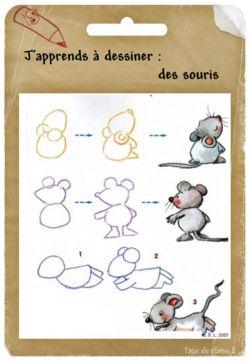 comment on dessine une souris musette souricette pinterest comment et souris. Black Bedroom Furniture Sets. Home Design Ideas