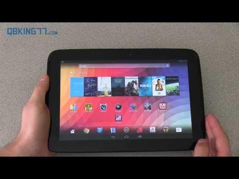Google Nexus 10 Tablet Full Review - YouTube
