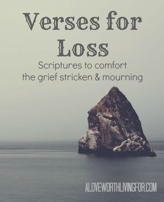 gallery for inspirational bible quotes about death of a