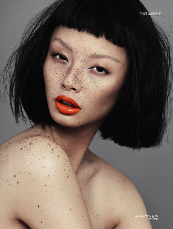 Alice Ma with Next Models Canada in the SS Chloe Magazine Hair&Makeup by Natalie Ventola Photography by Alex Evans